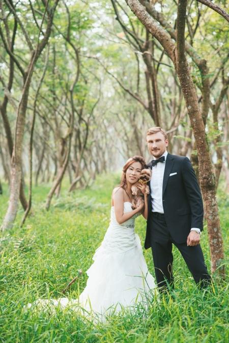 森林婚紗照-高雄婚攝Ryan